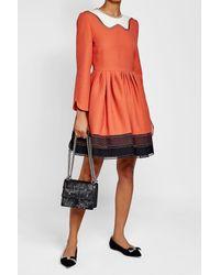 Fendi - Multicolor Kan I Fringed Leather Shoulder Bag - Lyst