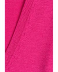 Michael Kors - Pink Merino Wool Pullover - Lyst