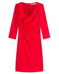 Diane von Furstenberg | Tailored Dress With Gathered Waist | Lyst