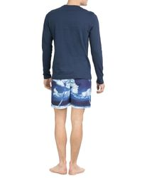 Orlebar Brown - Blue Bulldog Hulton Printed Slim Swim Shorts for Men - Lyst
