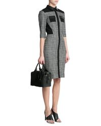 Pierre Hardy - Black Duffle Small Leather And Suede Tote - Lyst