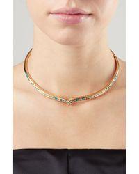 Aurelie Bidermann | Metallic Apache Gold-plated Necklace | Lyst