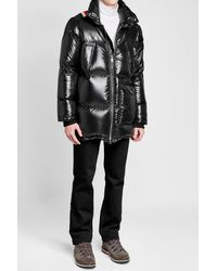 Moncler - Black Mancora Twist Down Jacket for Men - Lyst