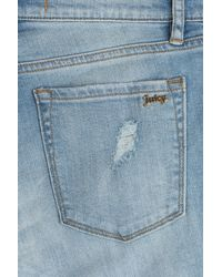 Juicy Couture - Blue Glamour Skinny Jeans - Lyst