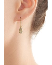 Carolina Bucci | Metallic 18k Yellow Gold Earrings With Diamonds | Lyst