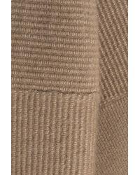 Agnona - Brown Cashmere-silk Pullover - Lyst