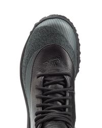 Nike - Black Zoom Kynsi Jacquard Waterproof Sneakers With Leather - Lyst