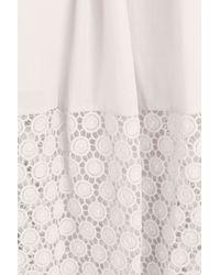 Steffen Schraut - Natural Fiesta Cotton Maxi Skirt - Beige - Lyst