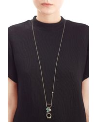 Alexis Bittar | Multicolor Mixed Charm Pendant Necklace | Lyst