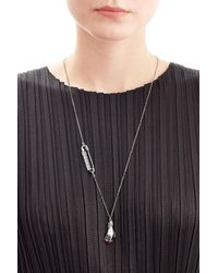 Marc Jacobs - Metallic Embellished Hand Necklace - Lyst