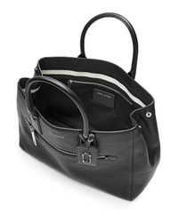 Marc Jacobs | Black Gotham Ns Leather Tote | Lyst