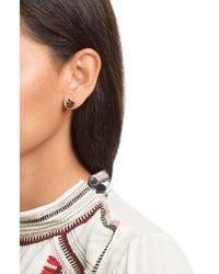Marc Jacobs | Metallic Mj Coin Stud Earrings | Lyst