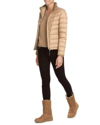 Polo Ralph Lauren | Natural Quilted Down Jacket | Lyst
