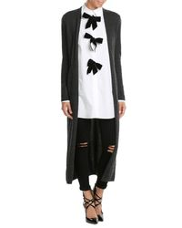 The Kooples - Black Cashmere Cardigan - Lyst