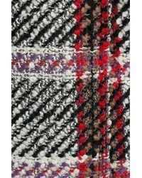Carven - Red Printed Virgin Wool Coat - Lyst
