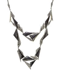 Alexis Bittar - Multicolor Necklace With Crystals And Opaque Stones - Lyst