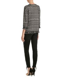 Missoni | Gray Fringed Pullover With Wool | Lyst