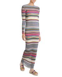 Missoni | Multicolor Striped Knit Dress | Lyst