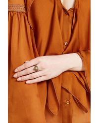 Etro | Metallic Heart Ring | Lyst