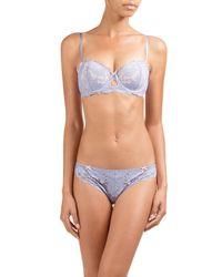 Heidi Klum | Blue Made In Eden Lace Bikini Briefs | Lyst