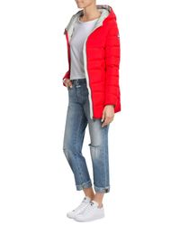 Colmar | Red Down Jacket With Hood | Lyst