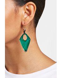 Alexis Bittar - Green Lucite Earrings - Lyst