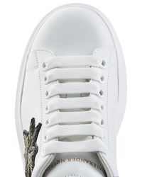 Alexander McQueen - Multicolor Leather Sneakers With Embellishment for Men - Lyst
