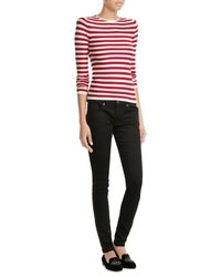 Burberry | Black Skinny Jeans | Lyst
