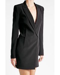 DKNY - Black Blazer-style Jumpsuit - Lyst