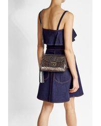 Marc Jacobs | Multicolor Metallic Leather Shoulder Bag | Lyst