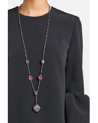 Alexander McQueen | Multicolor Charm Long Necklace | Lyst