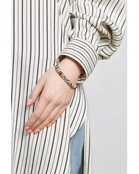 Gas Bijoux - Metallic Massai Bangle With Snakeskin - Lyst