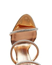 Giuseppe Zanotti - Multicolor Leather Sandal Heels With Crystals - Lyst