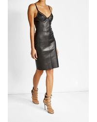 Jitrois | Black Leather Dress | Lyst