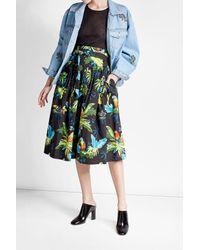 Ksenia Schnaider | Blue Embroidered Denim Jacket | Lyst