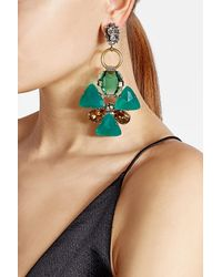 Marni | Multicolor Embellished Earrings | Lyst