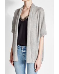 81hours - Multicolor Wool And Cashmere Open Cardigan - Lyst