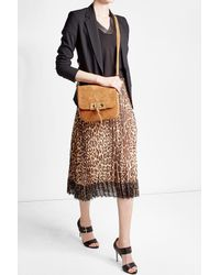 Vanessa Bruno - Brown Suede Shoulder Bag - Lyst