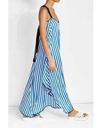 By Malene Birger   Blue Striped Dress   Lyst