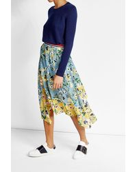 Polo Ralph Lauren | Blue Cashmere Pullover | Lyst