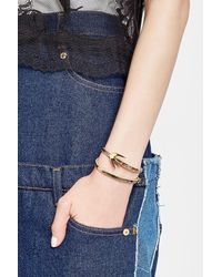 McQ Alexander McQueen - Multicolor Swallow Leather Bracelet - Lyst