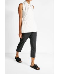 Rick Owens - Multicolor Sleeveless Cotton Top - Lyst