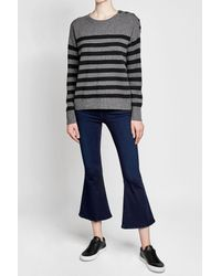 Vince - Multicolor Striped Cashmere Pullover - Lyst
