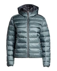 Colmar - Multicolor Quilted Down Jacket With Hood - Lyst