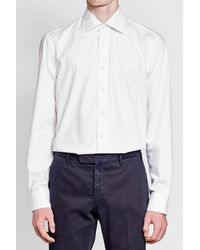 Baldessarini - Blue Cotton Shirt for Men - Lyst