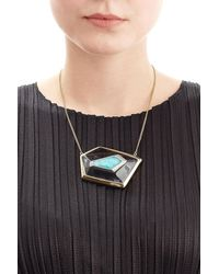 Alexis Bittar - Multicolor Small Floating Kite Necklace - Lyst