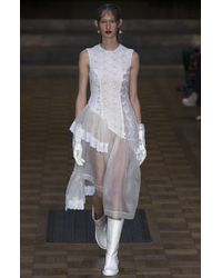 Simone Rocha - White Silk Organza Dress - Lyst