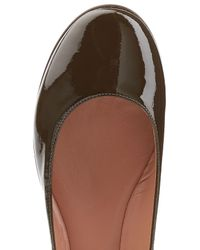 L'Autre Chose - Multicolor Patent Leather Ballerinas - Lyst