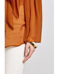 Marni - Metallic Bangle Bracelet - Lyst