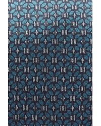 Brioni - Blue Striped Silk Tie for Men - Lyst